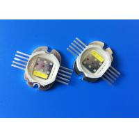 Buy cheap Integrated RGBWA Led RGB Chip , 30W High Power Multi-color LED Chips product