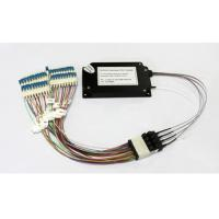 Buy cheap 40 Channels C21-C60 Dual Fiber Athermal AWG Module With 1U Rack Mount, LC/UPC product