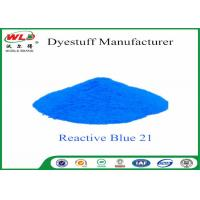 Buy cheap C I Reactive Blue 21 Cloth Colour Dye Turquoise Blue SE Chemicals In Dip Dyeing product