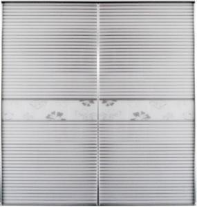 Buy cheap CY-ZG1112A Interior Aluminum Glass Sliding Door, Silvery White Bedroom Wardrobe Sliding Doors Factory product