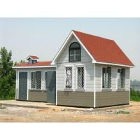 Buy cheap Fireproof Mobile Aluminum Green Prefab Houses  Eco Friendly Economical product