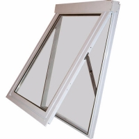 Buy cheap Clear Tempered Glazed Awning Aluminum Window , Anodising Swing Open Window product