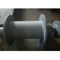 Buy cheap SS355 Material Grooved Winch Drum , Wire Rope Hoist Drum Design Customized product