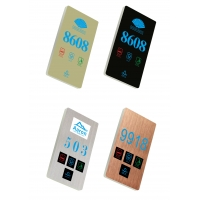 Buy cheap Hotel Guest Room Number Hotel Door Number Sign Electronic Door Number From CHINA product