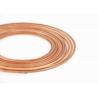 China Anti Corrosion C1020 Pancake Copper Tube , 5 / 32 Air Conditioning Piping on sale
