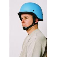 Buy cheap kevlar ABS and steel material blue bullet proof helmets with shield product