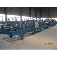 Buy cheap Insulation Sandwich Panel Roll Forming Machine 28KW 3-7m/min product