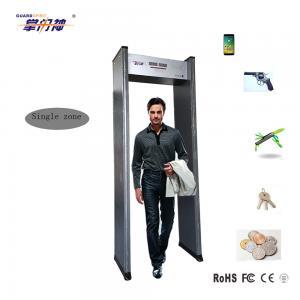 Buy cheap High Sensitivity Metal Detector Gate , Single Zone Walk Through Metal Detector product