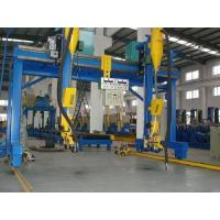 China China Automatic H Beam Welding Machine with Lincoln DC-1000 Welder SAW Welding in H Beam Line on sale