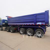 China End dump semi trailer prices dumping trailer dumper trailer dump trailers for sale on sale