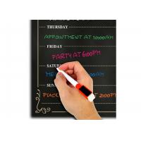 Buy cheap Gossy Magnetic Fridge Calendar , Magnetic Chalkboard Calendar For Refrigerator product
