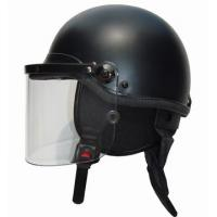 Buy cheap Full protection motorcycle Bulletproof police riot helmet with grid product