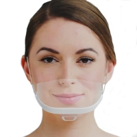 Buy cheap Food Processing 14*5.5CM Transparent Plastic Mouth Mask product
