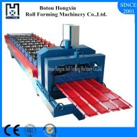 Buy cheap High Perforamnce Glazed Tile Roll Forming Machine Electrical Motor Switch product