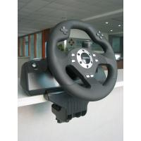 Buy cheap Black Wired USB Force Feedback Steering Wheel And Pedals For Computer product