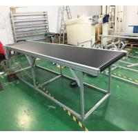 Buy cheap Black PVC Belt Conveyor Automated Conveyor Systems For Industry Products Transfer product