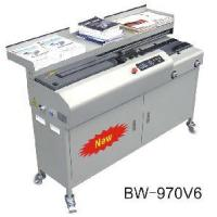 Buy cheap BW-970V6 A3 Semi- Automatic Perfect Binder from wholesalers