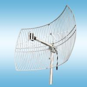 China 2.4GHz 24dBi high gain die-cast parabolic grid wifi antenna on sale