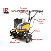 Buy cheap 196cc 6.5HP Gasoline Small Garden Tiller With 1 Forward 1 Reverse For Farm Cultivator product