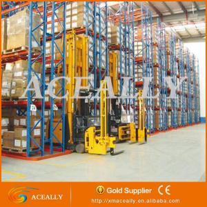 China Heavy duty narrow aisle pallet racking on sale