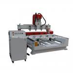Buy cheap 4 do cilindro giratório da linha central dos eixos 4 máquina de cinzeladura de madeira lisa com controle NK105 product