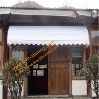 Elegance  Retractable Decorative Sunshade Manual French Door Awning