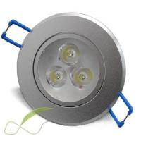 China 3W  30º  High Lumen led downlight replacement, Aluminum led Ceiling Spot lamp halogen on sale