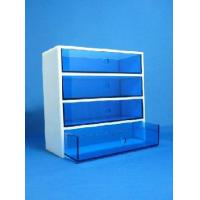 Buy cheap High Quality Acrylic 4 Drawer Organizer With Beautiful Shape product