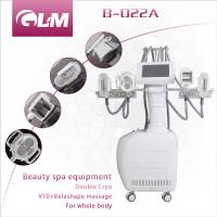 China Beauty Equipment B-022A Criolipolisis Vacuum Roller (V9) EMS RF beauty machine with CE wholesale