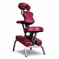 Buy cheap Portable Massage Chair with 115 to 130cm Height Range, Made of Extremely Strong Steel Tube Frame product