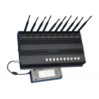 Buy cheap 2G 3G 4G GPS Cell Phone Wifi Jammer , Mobile Phone Signal Blocker For Schools product