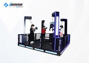 China HTC Glasses 4 Players VR Shooting Simulator Virtual Reality Platform With 4 PP Gun on sale
