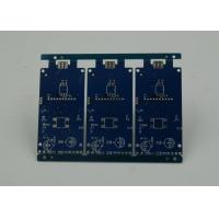 Buy cheap Blue Solder Masking Controlled Impedance PCB with BGA Gold Plating product