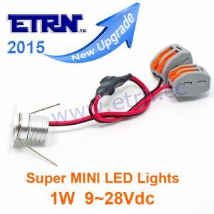 Buy cheap ETRN MINI LED Downlights 1W LED Cabinet lights DC9-28V LED Stair way lights Home lighting LED Spotlights Buried lights product