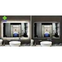 Buy cheap IP44 Rating LED Lighted Bathroom Mirror Wall Mount Silver Mirror Raw Material product