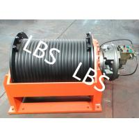 Buy cheap 50 Ton Hydraulic Crane Winch With Lebus Grooved Drum For Multilayer Spooling product