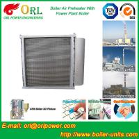 Buy cheap Anti Wind Pressure Tubular Type Air Preheater In Boiler Galvanized Steel product