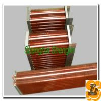 China 7.94mm Diameter Copper Tube Copper Fin Heat Exchanger , Cooling System Condenser on sale