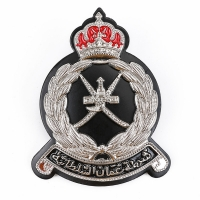 Buy cheap Military Rank Scout 10mm Oman Security Guard Badge Aluminum Stainless Steel product