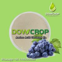 Buy cheap DOWCROP WATER SOLUBLE FERTILIZER AMINO ACID CHELATED CALCIUM HOT SALE HIGH QUALITY MILK YELLOW POWDER ORGANIC FERTILIZER product