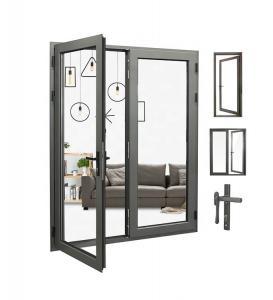 Buy cheap Vertical Swing Aluminium Casement Doors , Internal Double Casement Door ISO9001 product