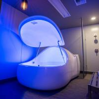 China healthy physical therapy relax your body floating spa bath pod samadhi tank floating pods on sale