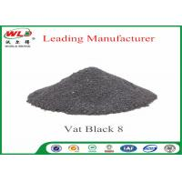Buy cheap Vat Black 8 Cotton Fabric Dye Environmental Vat Dyes 200 Solubility product