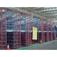 China Mezzanine Warehouse Racking Systems 3 Floor Racking System Fit on sale