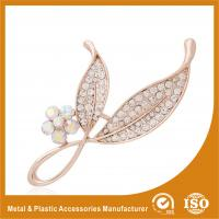 Buy cheap Anniversary / Wedding Fashion Jewelry Brooches , Small Crystal Brooches product