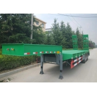 China 3 Axles 60 Ton Swan Neck Low Bed Semi Trailer on sale