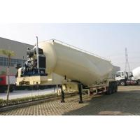 Buy cheap 39cbm Dry Bulk Tank Trailer For Talcum Powder , Cement Coal Delivery product