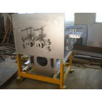 China  Commercial Electric Induction Furnaces 500KG , medium frequency Copper Melting Furnace  for sale