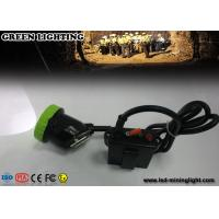 China 50000 Lux strongbrightness LED Mining Cap Lights Explosion proof 5w 11.2Ah Li ion Battery on sale