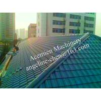 Buy cheap plastic PVC villa pitched roof glazed tile product